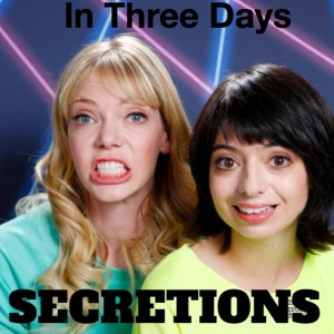 3 days until Secretions drops! Get ahead of the curve and pre-order on iTunes https://itunes.apple.com/us/album/secretions/id1035489881